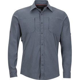 Marmot Trient LS Shirt Men Steel Onyx